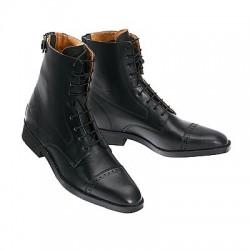 Boots EQUI-THÈME à lacets Bout Carré
