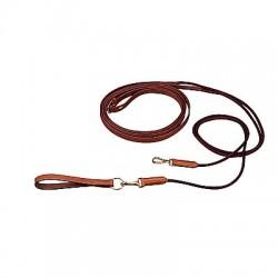 Rênes allemandes cuir/corde ERIC THOMAS