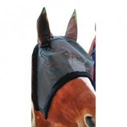 Masque anti-mouches HKM avec oreilles