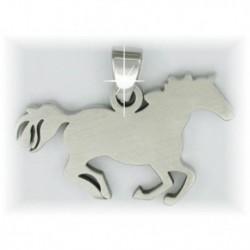 Pendentif cheval au galop HKM
